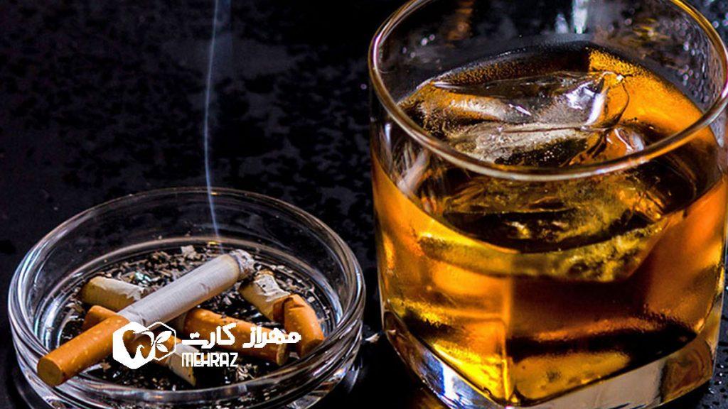 تاثیر-دخانیات-و-الکل
