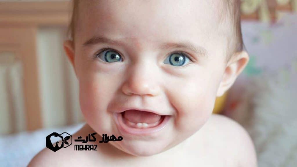 دندان-درآوردن-نوزاد